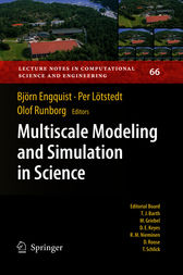 Multiscale Modeling and Simulation in Science by Björn Engquist