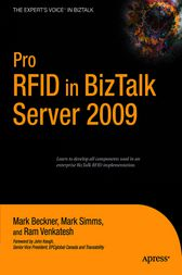 Pro RFID in BizTalk Server 2009 by Mark Beckner