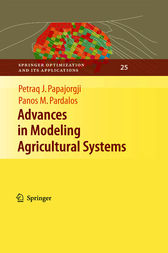 Advances in Modeling Agricultural Systems by Petraq J. Papajorgji