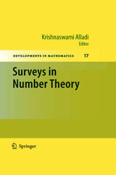 Surveys in Number Theory by Krishnaswami Alladi