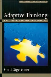 Adaptive Thinking by Gerd Gigerenzer