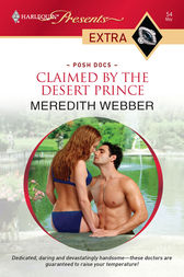 Claimed by the Desert Prince by Meredith Webber