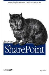 Essential SharePoint by Jeff Webb