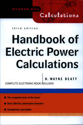 Handbook of Electric Power Calculations by H. Wayne Beaty