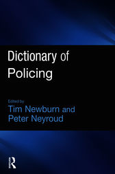 Dictionary of Policing by Tim Newburn