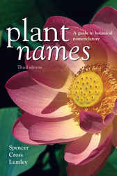 Plant Names by Roger Spencer
