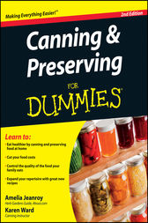Canning and Preserving For Dummies by Amelia Jeanroy