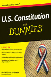 U.S. Constitution For Dummies by Michael Arnheim