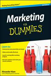Marketing For Dummies by Alexander Hiam