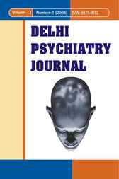 Delhi Psychiatry Journal, 12-1