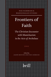 Frontiers of Faith by Jason BeDuhn