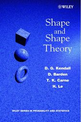 Shape and Shape Theory by D. G. Kendall