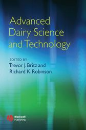 Advanced Dairy Science and Technology by Richard K. Robinson