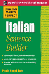 Practice Makes Perfect Italian Sentence Builder