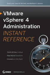 VMware vSphere 4 Administration Instant Reference by Scott Lowe