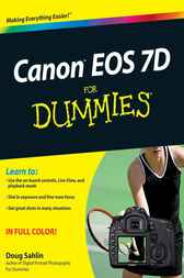 Canon EOS 7D For Dummies by Doug Sahlin