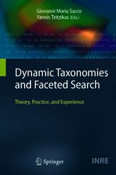 Dynamic Taxonomies and Faceted Search by Giovanni Maria Sacco