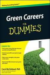 Green Careers For Dummies by Carol L. McClelland