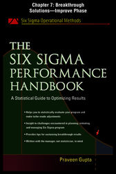 The Six Sigma Performance Handbook: Breakthrough Solutions