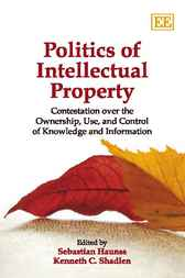 Politics of Intellectual Property by Sebastian Haunss