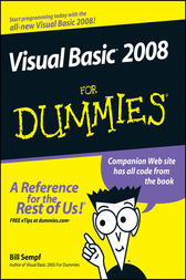 Visual Basic 2008 For Dummies by Bill Sempf