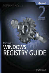 Microsoft® Windows® Registry Guide by Jerry Honeycutt