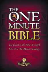 The HCSB One Minute Bible by Holman Bible Staff