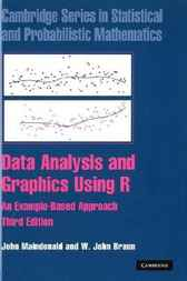 Data Analysis and Graphics Using R by John Maindonald
