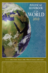Political Handbook of the World 2010 by Arthur Banks