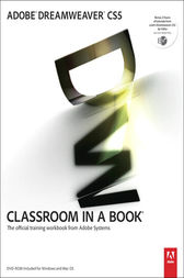 Adobe Dreamweaver CS5 Classroom in a Book by Adobe Creative Team