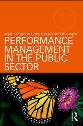 Performance Management in the Public Sector by Wouter Van Dooren