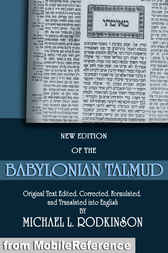 The Babylonian Talmud by Michael L. Rodkinson