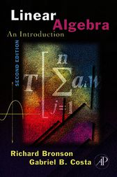 Linear Algebra by Richard Bronson