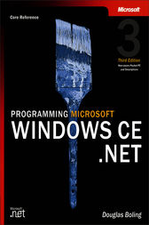 Programming Microsoft®  Windows® CE .NET