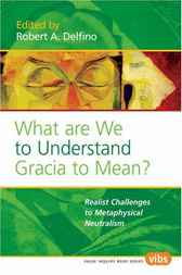 What are we to Understand Gracia to Mean