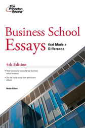 Princeton review college essays that made a difference