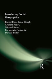 Introducing Social Geographies