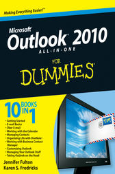 Outlook 2010 All-in-One For Dummies by Jennifer Fulton