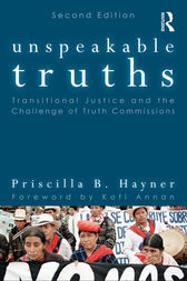 Unspeakable Truths by Priscilla B. Hayner