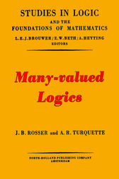 Many-values logics by J. Barkley J. Rosser