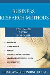 Business Research Methods by H. R. Appannaiah