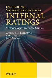 Developing, Validating and Using Internal Ratings by Giacomo De Laurentis