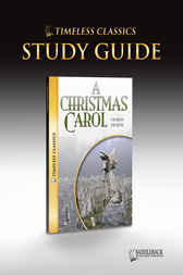 A Christmas Carol Novel Study Guide by Saddleback Educational Publishing