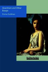 Emma goldman anarchism and other essays amazon