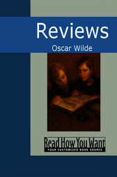 Reviews by Oscar Wilde