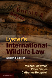 Lyster's International Wildlife Law by Michael Bowman