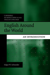 English Around the World by Edgar W. Schneider