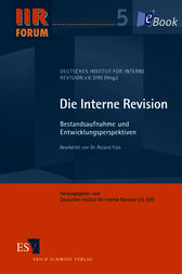 Die Interne Revision by Deutsches Institut für Interne Revision e. V. (IIR);  Roland Füss