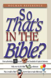 So That's in the Bible? by John Perry