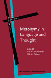 Metonymy in Language and Thought by Klaus-Uwe Panther